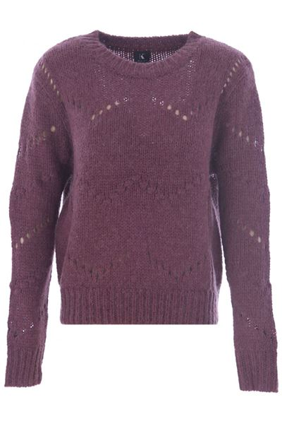 Sweater - K-design - R500 Wine berry