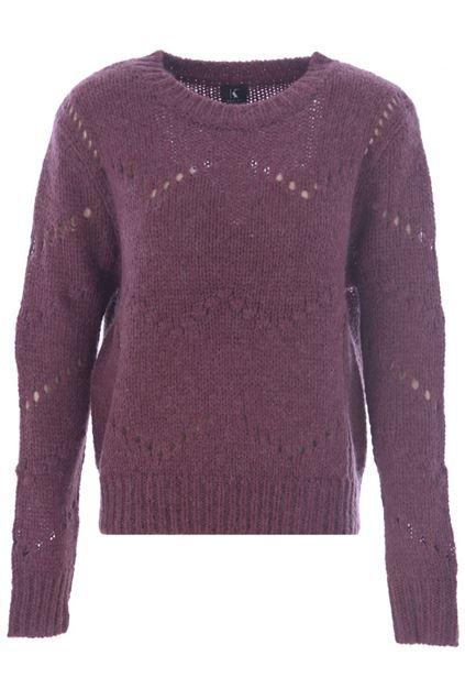Sweater - K-design - R500 Wine berry