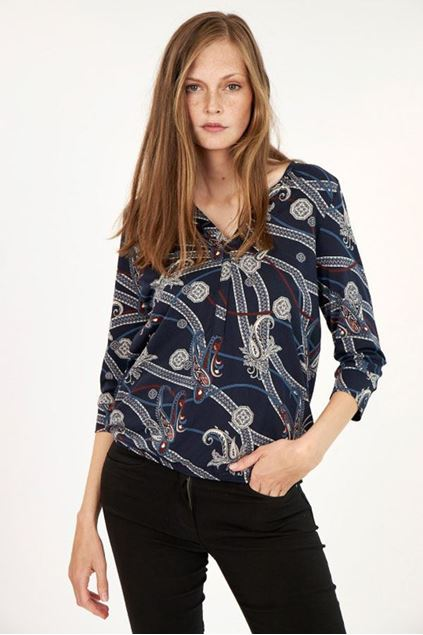 soyaconcept - t-shirt - felicity - navy