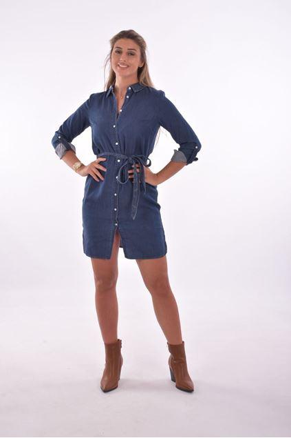 Vila - Jurk - Vibista - jeans