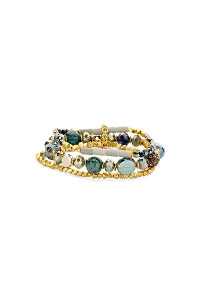 Les Cordes - Armband - Pan38 - Blauw
