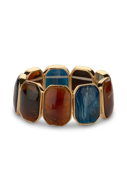 Les Cordes - Armband - Kian -Blauw