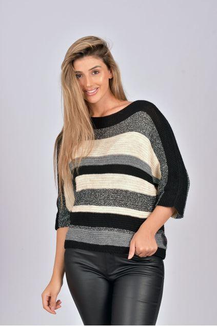 Pull - Terra di Siena - zwart zilver