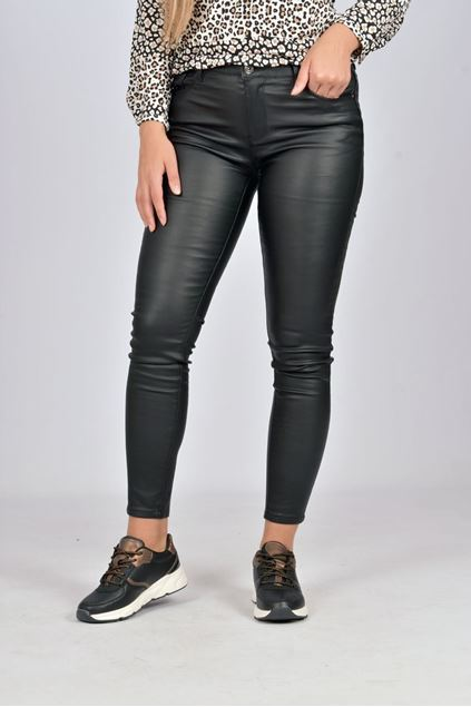 Broek -Toxik - Leatherlook