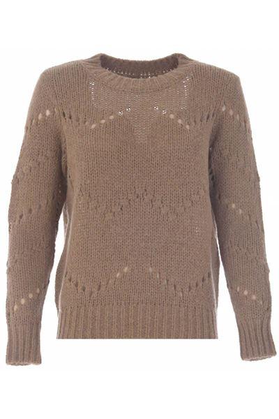 Sweater - K-design - R500 Camel