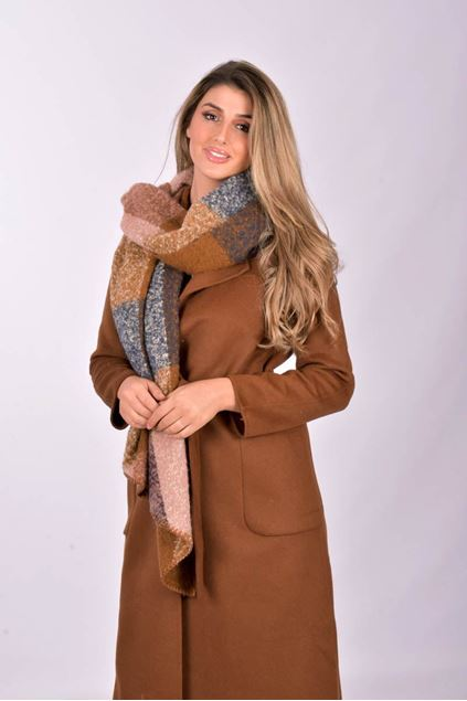 soyaconcept - jacket - kobra 1 - brown
