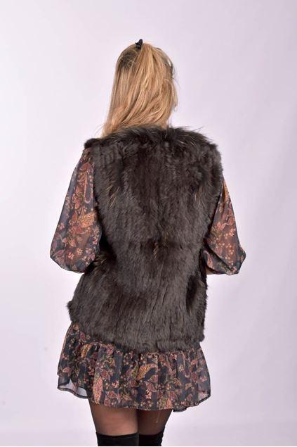 Vest - Selected by My Wish -  4020 - Dark brown