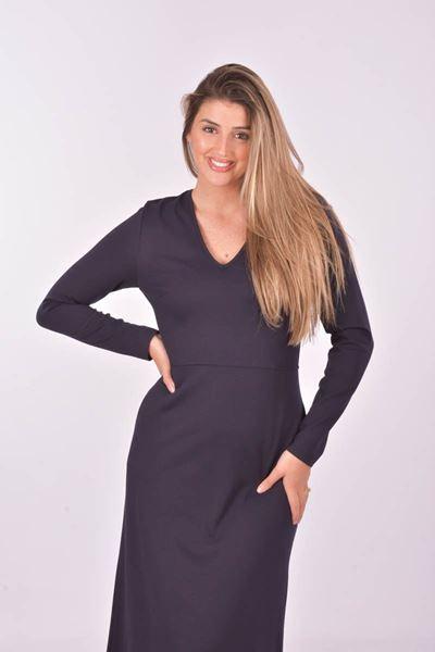 Nathalie Vleeschouwer - jurk - Ulma - navy