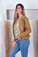Jacket - Vila - Vifaddy - butternut