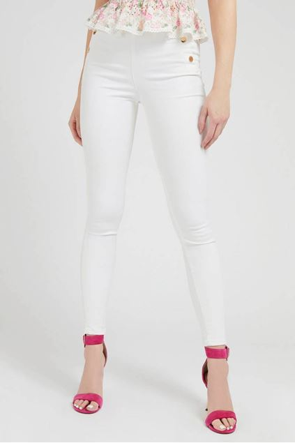 Broek - Guess - W1RA56 - Wit