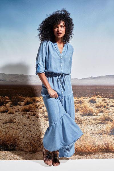 Jurk - K-design - S901 - Blue Jeans