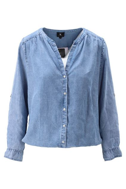 Blouse - K-design - S926 - Blue jeans