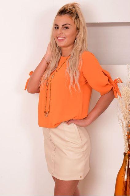 Blouse - Artigli - AC32694 - Oranje