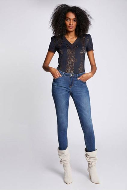T-shirt - Morgan - Duplex - Noir