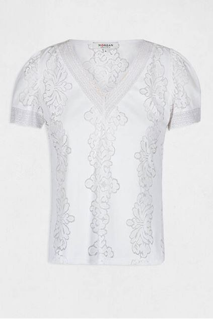T-shirt - Morgan - Duplex - Off white