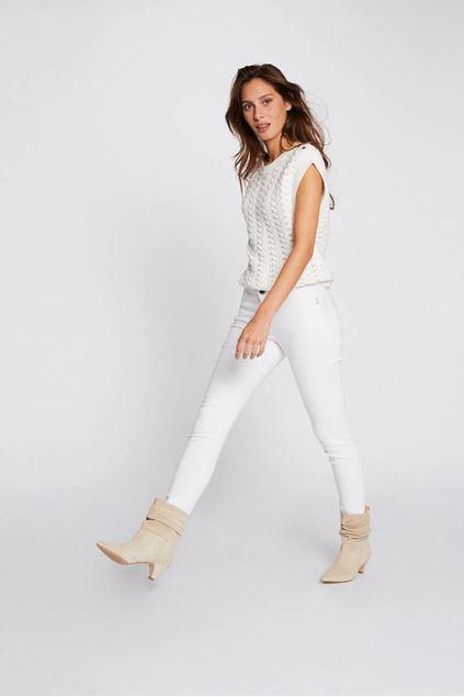 Broek - Morgan - Petra1 - Off white