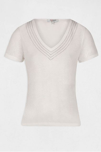 T-shirt - Morgan - Davia - Off white