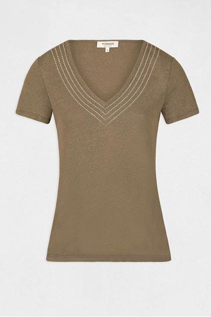 T-shirt - Morgan - Davia - Thym