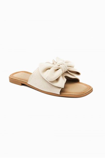 Slippers - Selected by My Wish - 333-157 - Beige