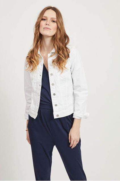 Jacket - Vila - Vishow - white