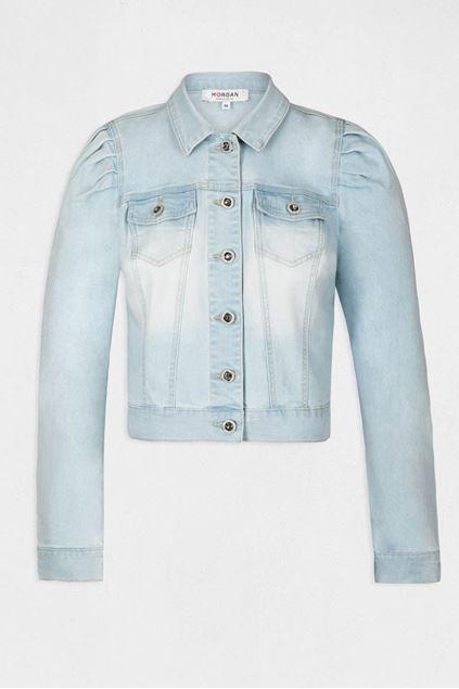 Jeansvest - Morgan - Valeria - Jean bleached