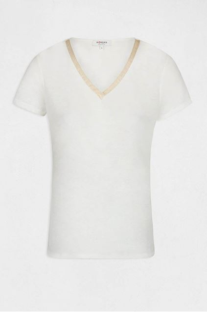 T-shirt - Morgan - Dore - Off white