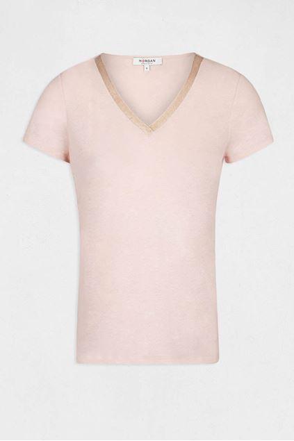 T-shirt - Morgan - Dore - Nude