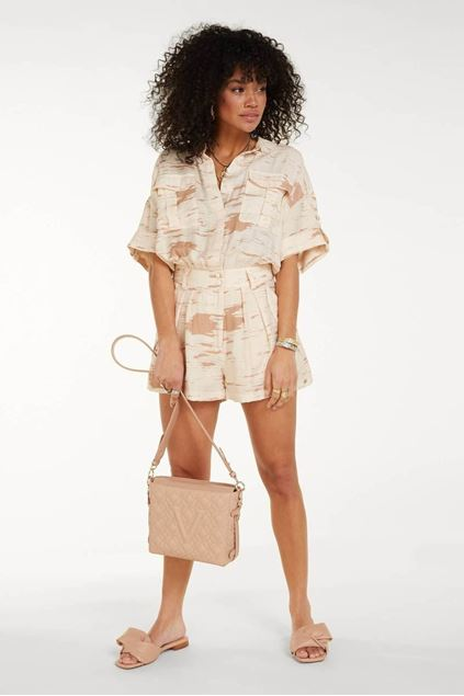 Playsuit - Josh V -  Lua - Cream nougat