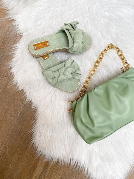 Slippers -  Selected by My Wish - 6695 - Green