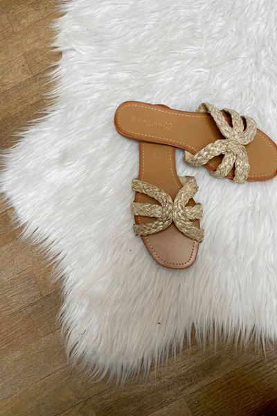Slippers - Selected by My Wish - LS59 - Beige