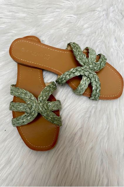 Slippers - Selected by My Wish - LS59 - Green
