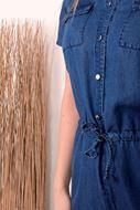 Playsuit - Artigli - 32396 - Jeans