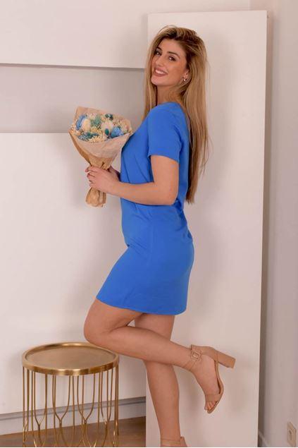 Jurk - Vila - Visommi - blue
