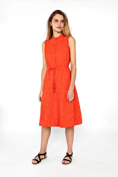 Jurk - Vila Joy - Napolion - orange