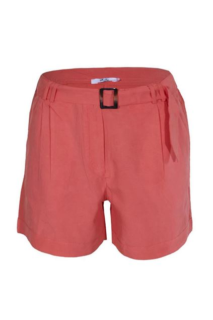 Short - Vila Joy - Oreo - coral