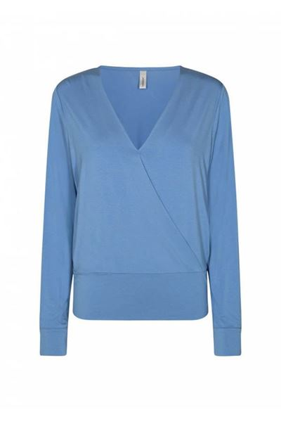 Blouse - Soyaconcept - Marica 129 - lichtblauw