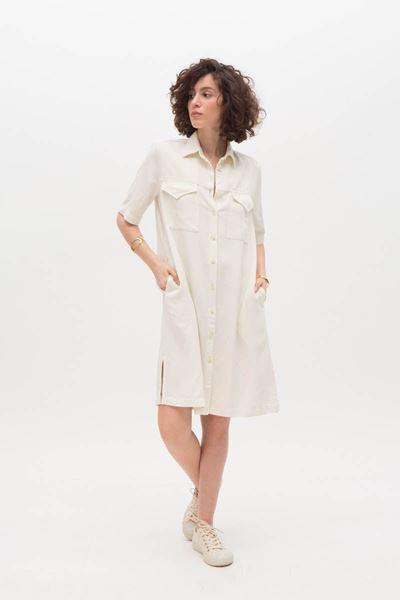 Jurk - Nathalie Vleeschouwer - Denim shirt dress - shell