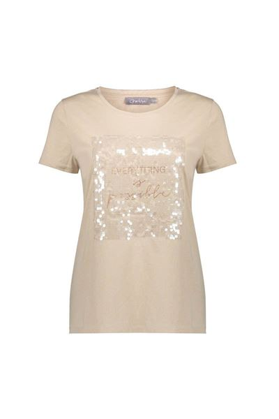Geisha - t-shirt -12027-46 - off white