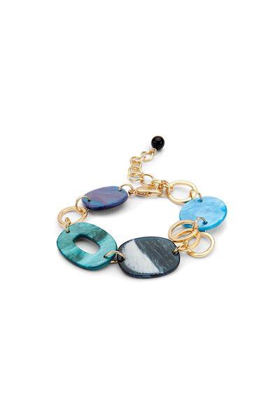 Armband - Les Cordes - Kiona - blauw