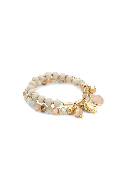 Armband - Les Cordes - Santo - beige