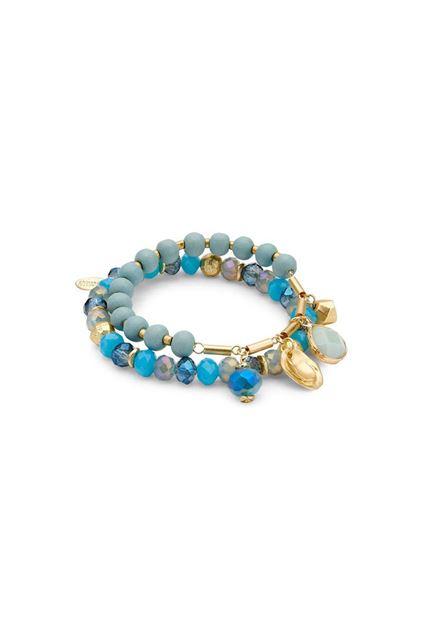 Armband - Les Cordes - Santo - fel blauw
