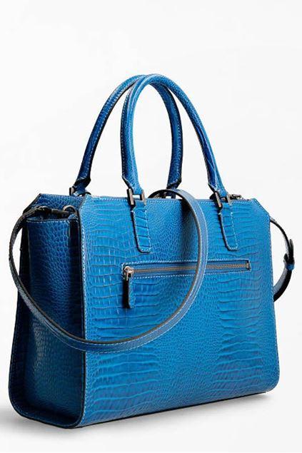 Handtas - Guess - Raffie Carryall - Blue
