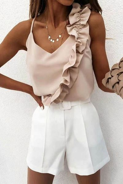 Top - Selected by My Wish - 479 beige