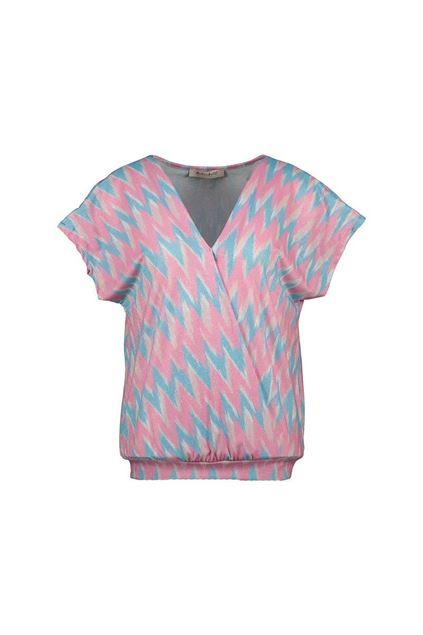 T-shirt - Amélie & Amélie - Zagreb - Roze