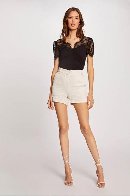 T-shirt - Morgan - Denata - Noir