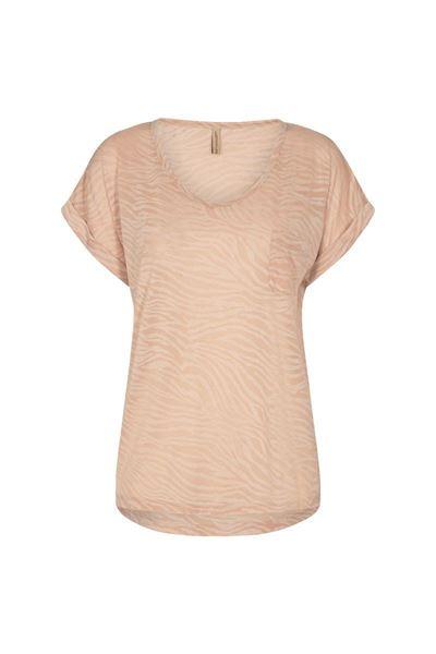 T-shirt - Soyaconcept - Panik 50 - zand