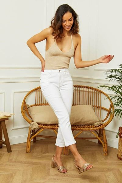 Jeans - R.display - D1098 - Wit