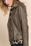 Jacket - Geisha - 15595-70 - army