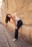 Afbeelding van Broek - Selected by My Wish - Cindy H - JD292BT-2