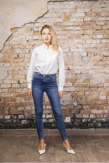 Afbeeldingen van Broek -  Toxik -  H2523 - Jeans